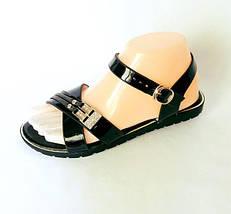 Женские Сандалии Босоножки Летняя Обувь Чёрные (размеры: 36,37,38,39,40,41), фото 2
