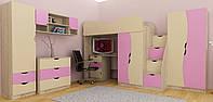 Комплект мебели Kids. Мебель Тинейджер. Мебель детская. Детская комната.