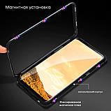 Магнитный металл чехол Metal Frame для Xiaomi Redmi 7 / стекла на дисплей /, фото 3