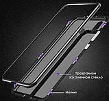 Магнитный металл чехол Metal Frame для Xiaomi Redmi 7 / стекла на дисплей /, фото 5