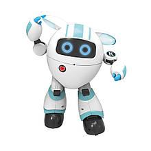 Программируемый интерактивный робот-компаньон JJRC R14 KaQi-YoYo, бело-голубой (JJRC-R14B)