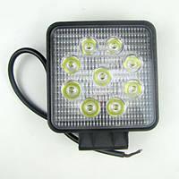 Фара LED квадратная 27W (узкий луч)