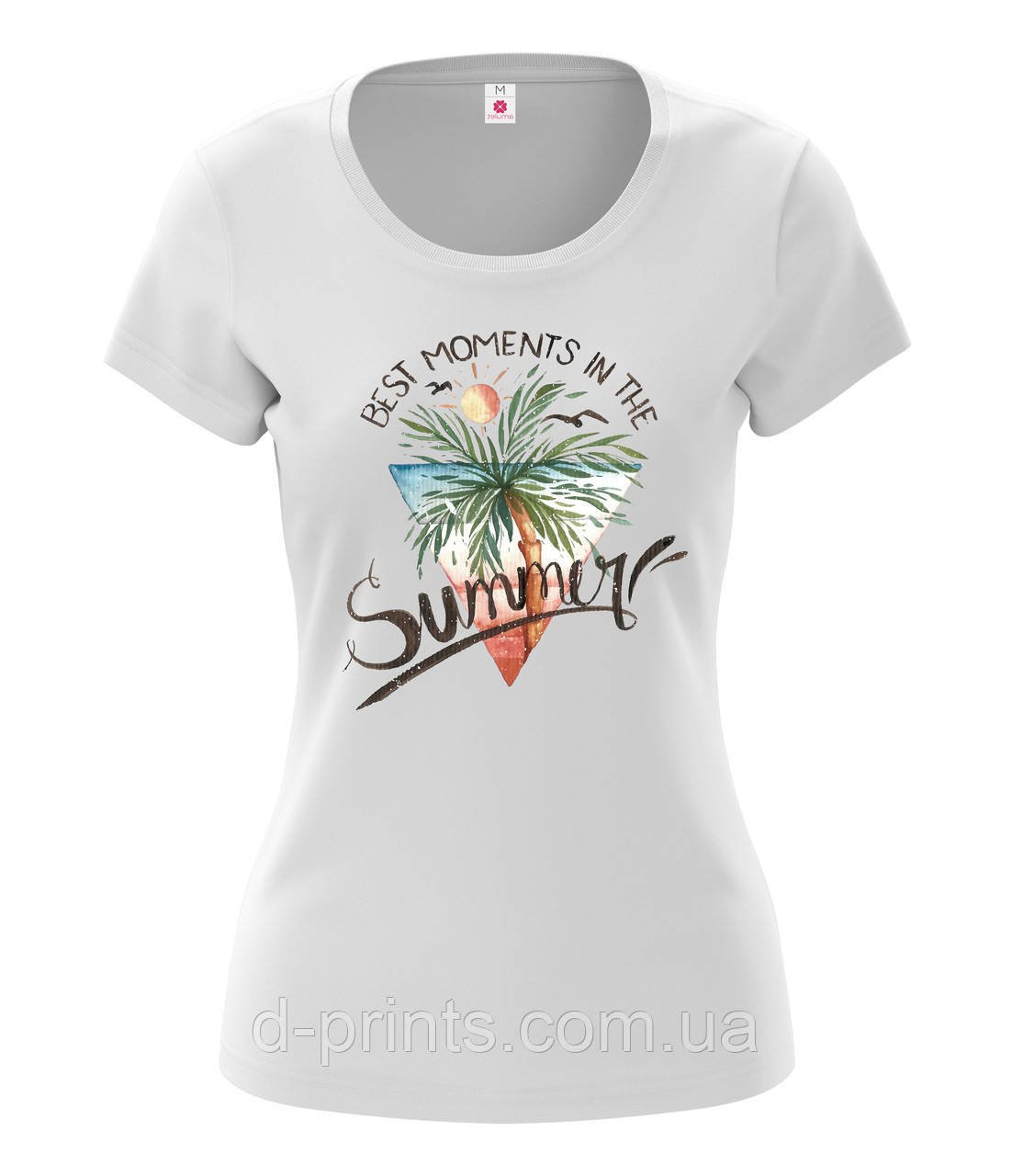 """Футболка женская с рисунком """"Summer"""""""