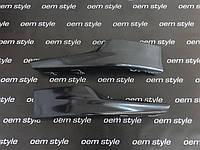 Накладки переднего бампера ( Клыки ) accord CU 2011-2012, фото 1