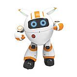 Программируемый интерактивный робот-компаньон JJRC R14 KaQi-YoYo, бело-оранжевый (JJRC-R14O), фото 2