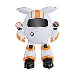 Программируемый интерактивный робот-компаньон JJRC R14 KaQi-YoYo, бело-оранжевый (JJRC-R14O), фото 6