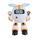 Программируемый интерактивный робот-компаньон JJRC R14 KaQi-YoYo, бело-оранжевый (JJRC-R14O), фото 3