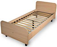 Кровать из ДСП №3 (основание каркас -кровать на ламелях на регулируемых ножках)