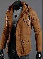 Мужская стильная куртка парка