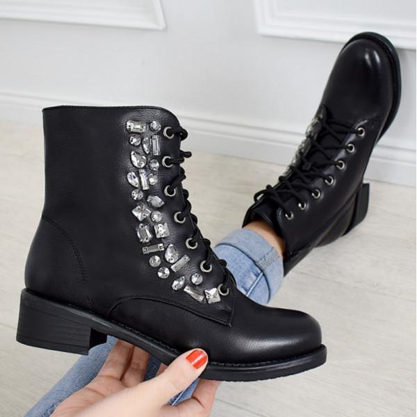 Женские ботинки Glamor BLACK