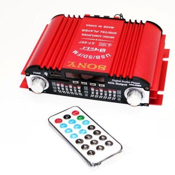 Усилитель Звука Sony ST-997 - USB, SD-карта, MP3 4х канальный