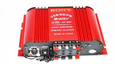 Усилитель Звука Sony ST-997 - USB, SD-карта, MP3 4х канальный, фото 3
