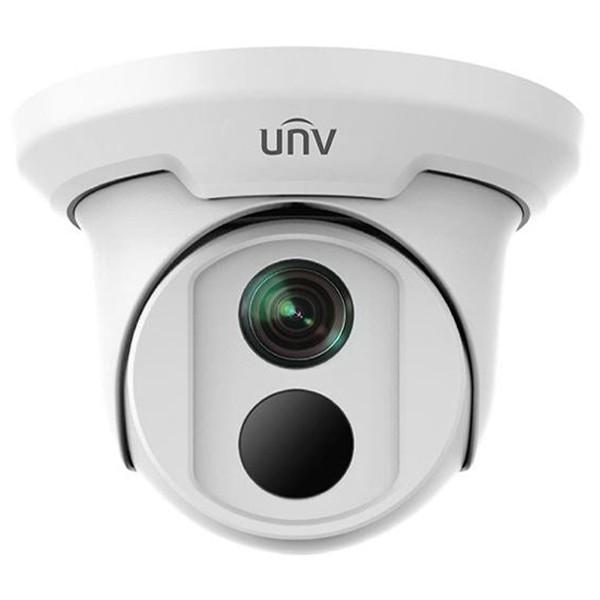 8 Мп купольная IP видеокамера Uniview IPC3618SR3-DPF40M
