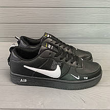 Кроссовки мужские в стиле Nike Air черные, фото 3