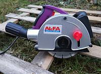 Штроборез бороздодел 3100 Вт + 4 диска AL-FA ALBR-31 (Италия), Гарантия 1 год
