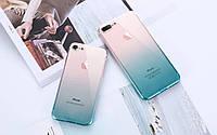 Прозрачный силиконовый чехол на Iphone 7 Plus, 8 Plus