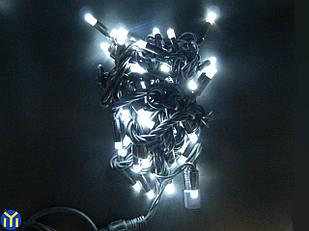Гирлянда нить 50 LED уличная белая, 5 м.