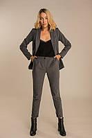 Женский деловой костюм серый XS, S, M
