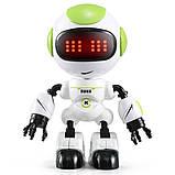 Міні робот-компаньйон JJRC R8 Ruke Luke Біло-зелений (JJRC-R8G), фото 2
