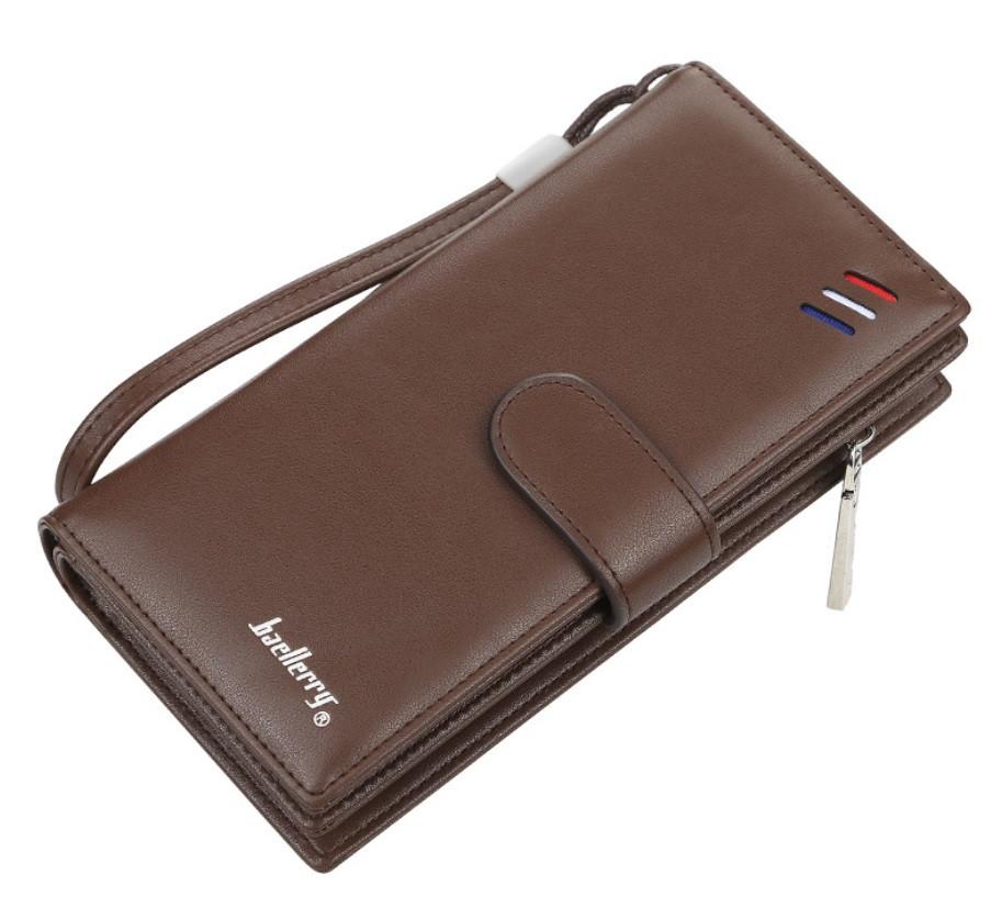 Чоловічий клатч BAELLERRY S1066 New Business Clutch портмоне Коричневий (SUN5470)