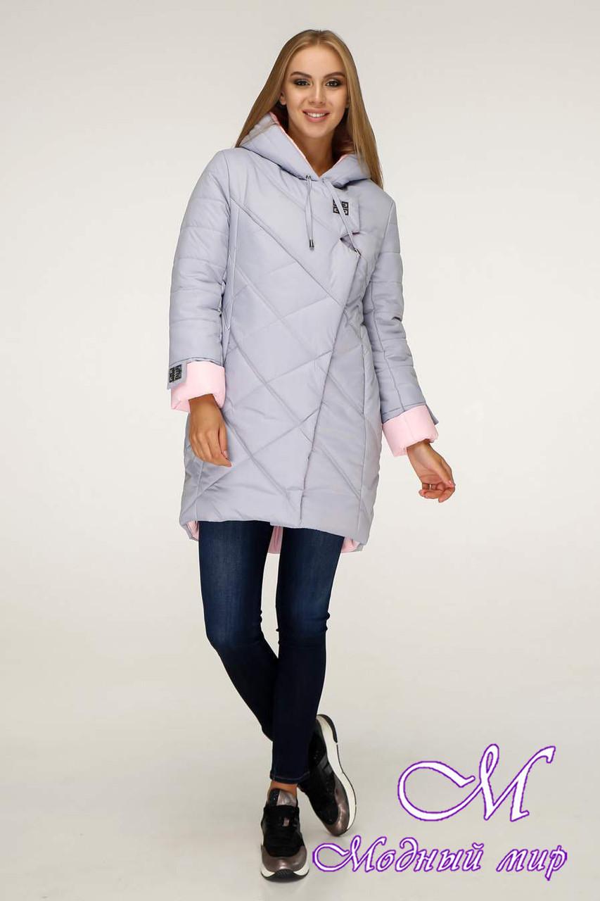 Женская зимняя куртка больших размеров (р. 42-52) арт. 1201 Тон 5А