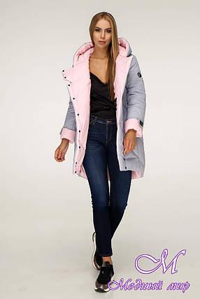 Женская зимняя куртка больших размеров (р. 42-52) арт. 1201 Тон 5А, фото 2