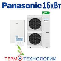 Тепловой насос воздух-вода Panasonic 16 кВт T-CAP с гидромодулем, фото 1