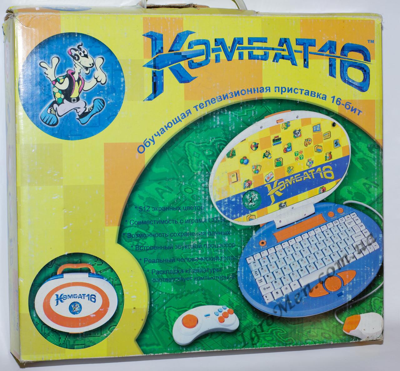 Sega Mega Drive (Комбат 16, обучающая, 2000-х)