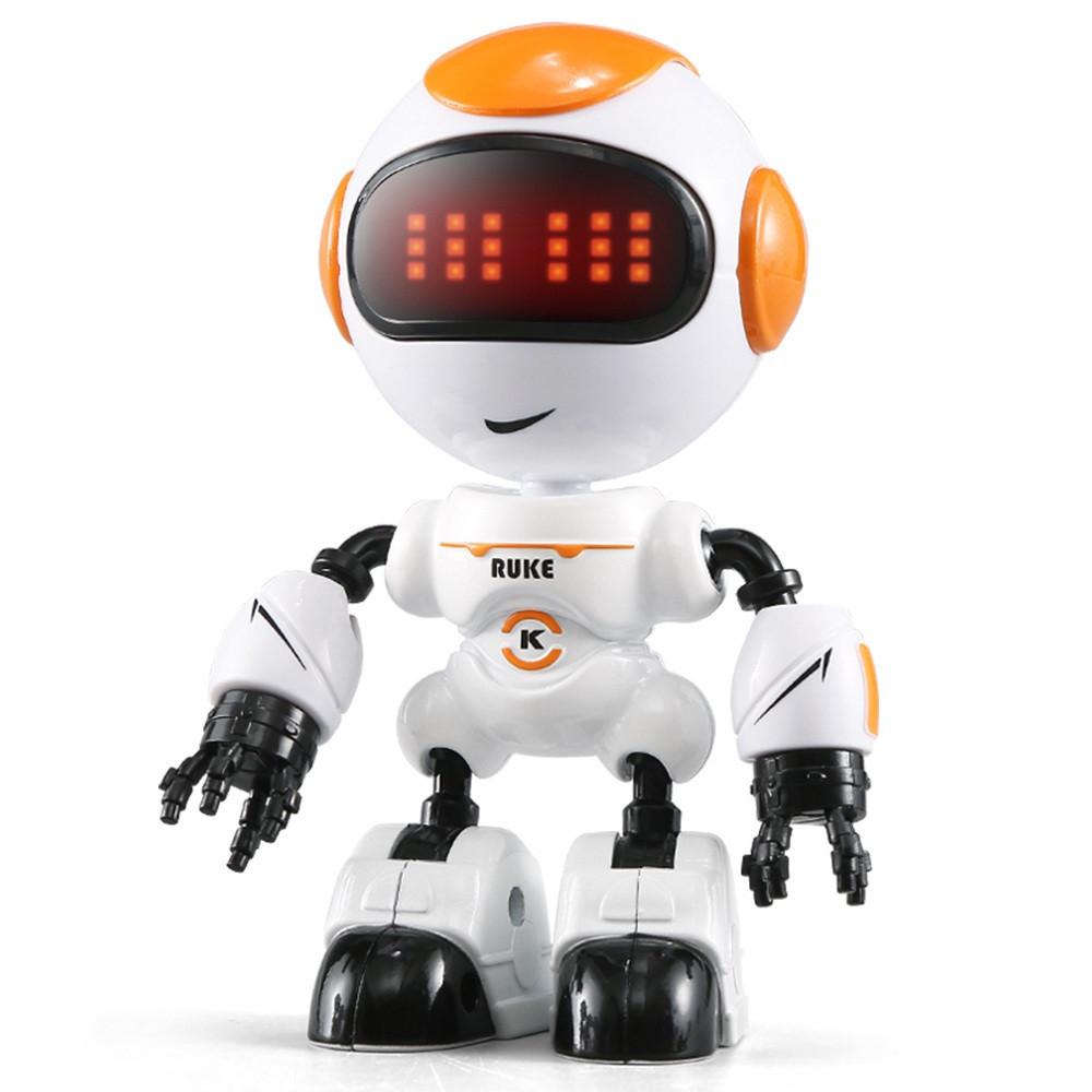 Мини робот-компаньон JJRC R8 Ruke Luke Бело-оранжевый (JJRC-R8O)