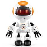 Міні робот-компаньйон JJRC R8 Ruke Luke Біло-помаранчевий (JJRC-R8O), фото 2