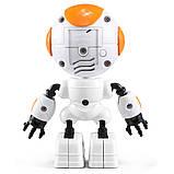 Міні робот-компаньйон JJRC R8 Ruke Luke Біло-помаранчевий (JJRC-R8O), фото 6