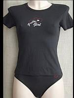 Топ комплект женский стрейч (трусики + футболка) С+3