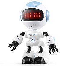 Мини робот-компаньон JJRC R8 Ruke Luke Бело-голубой (JJRC-R8B)