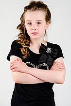 Детская футболка для девочки Byblos Италия BJ1450 Черный
