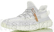 "Женские кроссовки adidas Yeezy Boost 350 V2 ""Static Reflective Grey"" Адидас Изи Буст 350 статик рефлектив, фото 3"