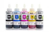 Светостойкие чернила INKSYSTEM для фотопечати 100 мл (5 цветов)