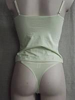 Топ комплект женский стрейч (стринги + маечка) С+3, фото 1