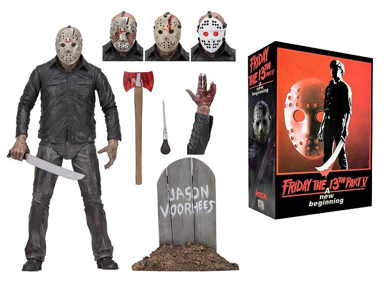 Фігурка Джейсон Уурхіза з к/ф П'ятниця 13-е - Jason Voorhees, Friday The 13th, Necа