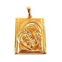 Иконка Xuping  3.6см Божья матерь с младенцем л314