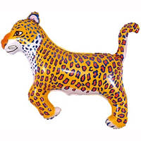 Фольгированный шар  Леопард № 2,  29см х 42см