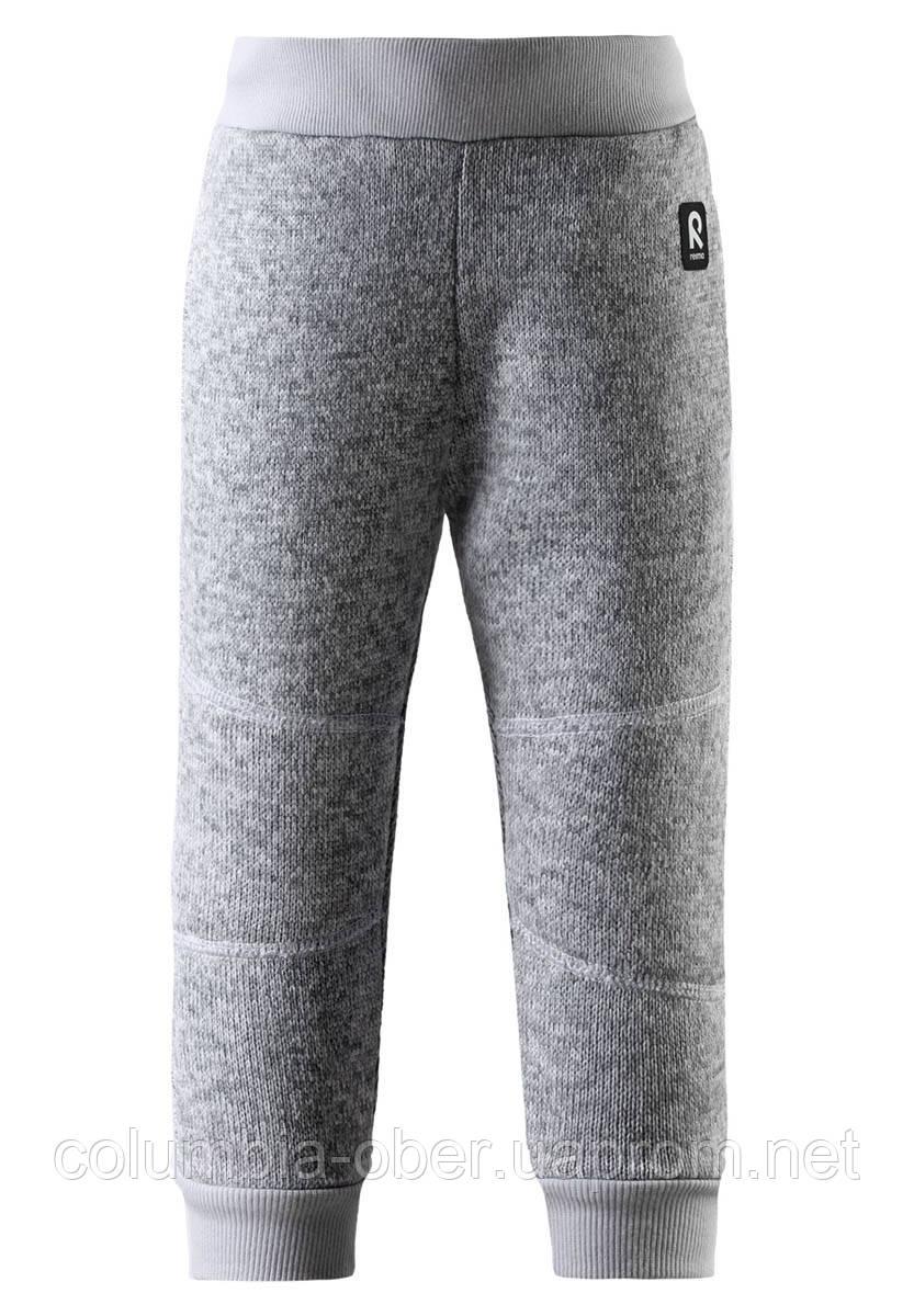 Флисовые штаны для девочки Reima Vuotos 516473-9150. Размеры 80 - 110.