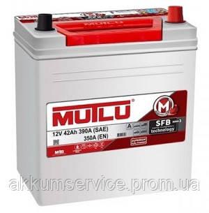 Аккумулятор автомобильный Mutlu Silver Asia 42AH L+ 390A (B20.42.035.G)
