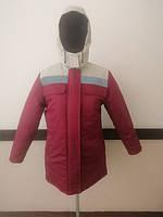 Куртка утепленная, рабочая, женская. Зимняя спецодежда