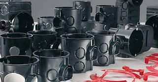 Коробки для подштукатурного монтажа