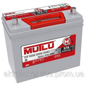 Аккумулятор автомобильный Mutlu Silver Asia 45AH L+ 400A (B24.45.036.B)