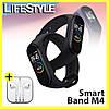 Фитнес браслет  Mi Band M4,Умный браслет / Спортивный трекер  + Подарок! Наушники Apple