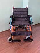 Инвалидная коляска с откидными подлокотниками, фото 2