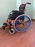 Инвалидная коляска с откидными подлокотниками, фото 3