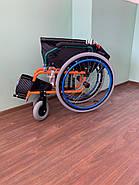 Инвалидная коляска с откидными подлокотниками, фото 4