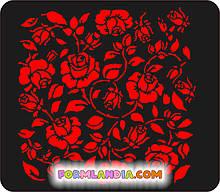 Трафарет для пряников Цветочный №2